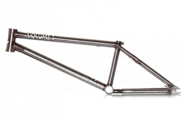 Volume BMX Frame Vessel V3 Raw Splater Silver
