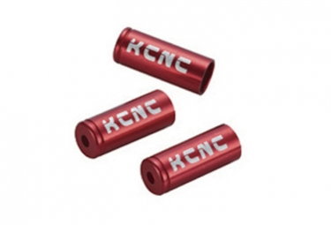 Embouts de cable kcnc alu 5 mm 10 unites rouge