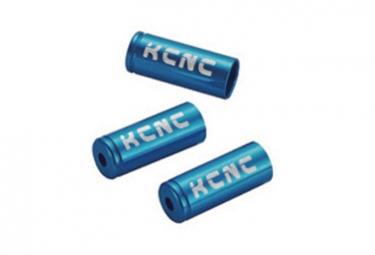Embouts de cable kcnc alu 5 mm 10 unites bleu