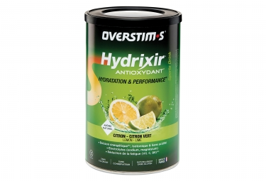 OVERSTIMS Energy Drink ANTIOXYDANT HYDRIXIR Lemon - Lime 600g