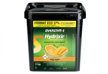 OVERSTIMS Energy Drink ANTIOXYDANT HYDRIXIR Orange - Mango 3kg