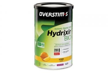 Boisson Énergétique Overstims Hydrixir Bio Citron 500g