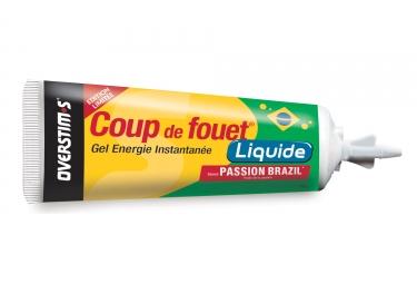 OVERSTIMS Energie Gel LIQUID COUP DE FOUET Maracuja