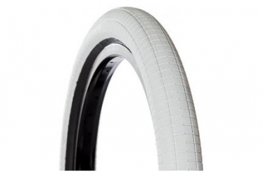 Demolition Hammerhead Street Tire White with Black tire sidewall White
