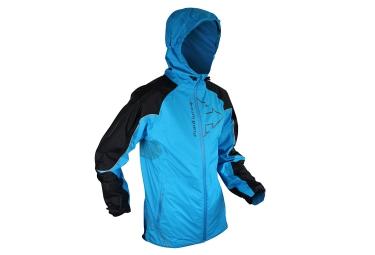 Veste impermeable raidlight top extreme bleu noir s