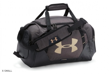 Borsa sportiva Under Armour Undeniable 3.0 Dark Grey Gold