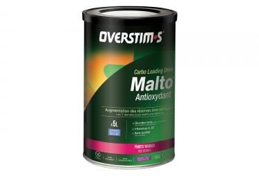 Overstims boisson energetique malto antioxydant fruits rouges 500g