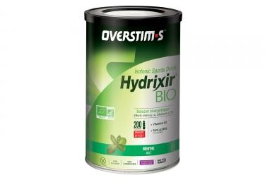 Boisson energetique overstims hydrixir bio menthe 500g