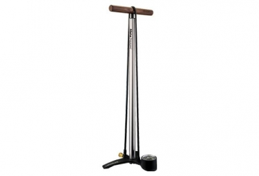 Birzman Grand-Maha Push & Twist III Floor Pump 220 PSI / 15 Bar Silver
