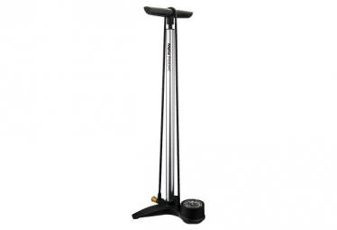 Birzman Grand Maha Push & Twist V Floor Pump 220 PSI / 15 Bar Silver