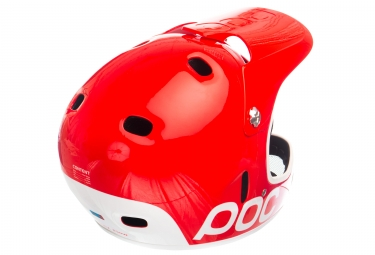 Casco Integral Poc Cortex Flow Blanc / Rouge