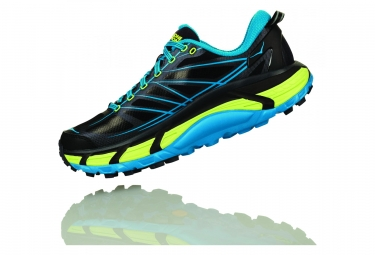 Hoka Mafate Speed 2 Black Blue Yellow