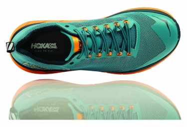Chaussures de Trail Hoka One One Challenger ATR 4 Bleu / Orange