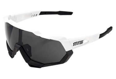 Lunettes Speedtrap White Black - Smoke Screen