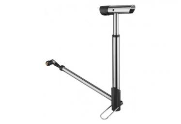 Birzman Compact Horizons Apogee Floor Pump 120 PSI / 8.3 Bar Silver