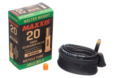 Maxxis Welter Weight 20 '' Light Tube Schrader 48 mm