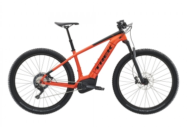Vtt semi rigide electrique trek powerfly 7 29 shimano slx xt 11v orange noir 2019 19
