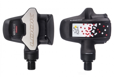 Look Keo Blade Carbon Tour de France Special Edition Clipless Pedals Black White Red