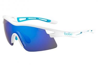 Lunettes de cyclisme bolle vortex blanc bleu