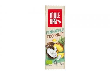 Barre energetique mulebar bio vegan ananas noix de coco 40 g