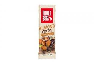 Barre proteinee mulebar vegan amande chocolat 40 g