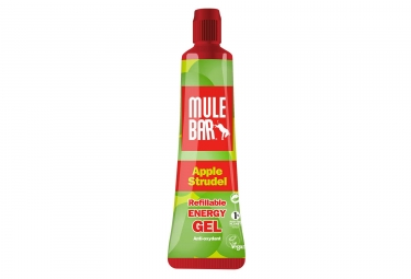 Gel energetique mulebar vegan pomme 37 g