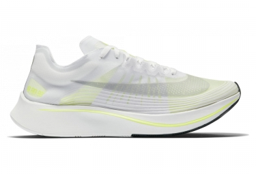 Chaussures de running nike zoom fly sp blanc jaune homme 46