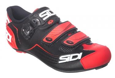 Pair of Road Shoes SIDI 2018 ALBA Black Red