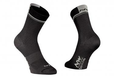 Paire de chaussettes northwave logo 2 noir 44 47