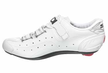 Chaussures Route Sidi Alba Blanc / Blanc