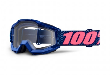 Masque 100% Accuri Futura Bleu Ecran Transparent