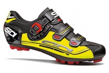 Chaussures vtt sidi eagle 7 noir jaune 47
