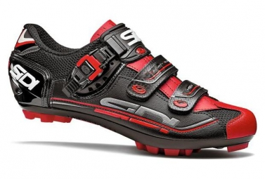 Chaussures vtt sidi eagle 7 noir rouge 46