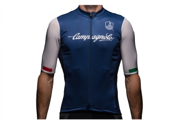 Maillot manches courtes campagnolo iridio bleu fonce xxl