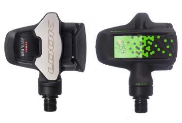 Paire de pedales look keo blade carbon tour de france special edition noir vert