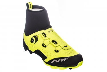 Northwave Raptor GTX Shoes Neon Yellow Black