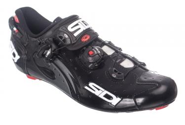 Chaussures route sidi wire carbon noir verni 42