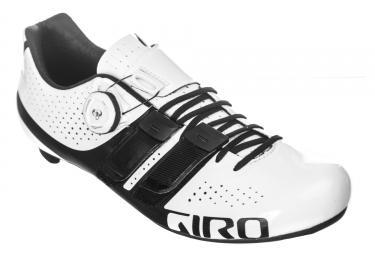 Paire de Chaussures Route GIRO FACTOR TECHLACE Blanc Noir