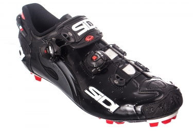 Sidi Drako Carbon SRS MTB Shoes - Black Vernice