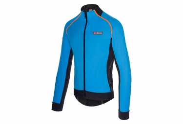 Spiuk Elite Pro Waterproof Jacket Blue/Black