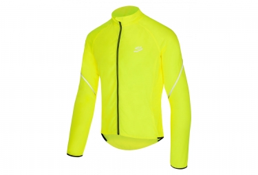 Veste coupe vent spiuk top ten jaune fluo s