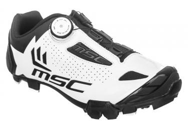 Chaussures vtt msc aero xc blanc 39