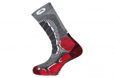 Paire de Chaussettes Monnet Trek Light Rouge