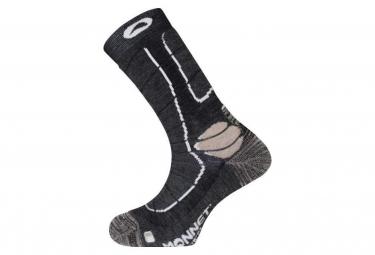 Monnet Trek Medium Socks Grey / Beige