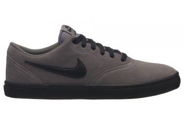 Zapatillas Nike SB Check Solarsoft Gris Negro