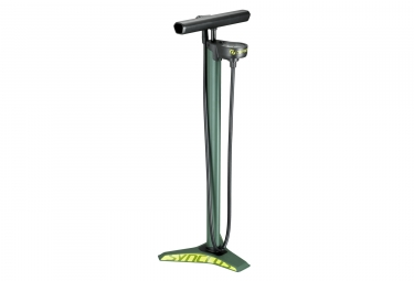 Syncros Vernon 2.0HV Floor Pump (Max 40 PSI / 2,8 bar) Green
