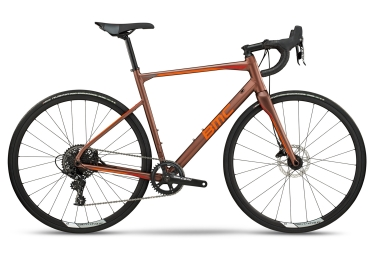 Vélo de Route BMC Roadmachine 03 Three Sram Apex 11V 2018 Marron / Orange