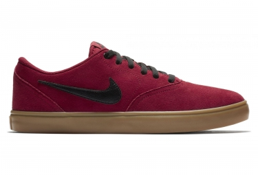 Zapatillas Nike SB Check Solarsoft rojas