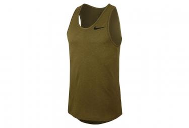 Nike Tank Breathe Green Khaki Men
