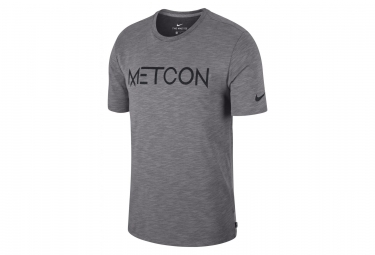 Nike Jersey Dry Metcon Grey Men